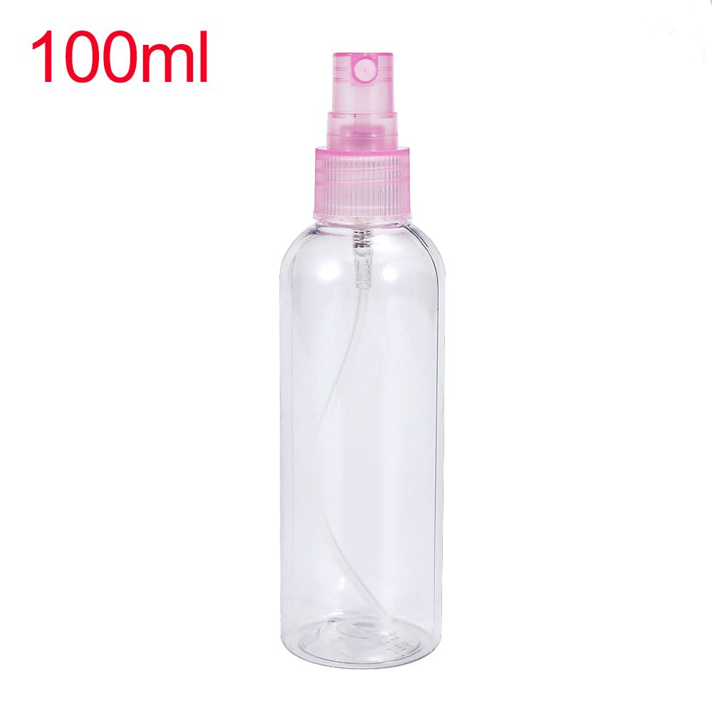 1PCS  100ml  Perfume  Empty  Sprayer Bottle Container Refillable Portable Essential Oil Pot Cosmetic Atomizer