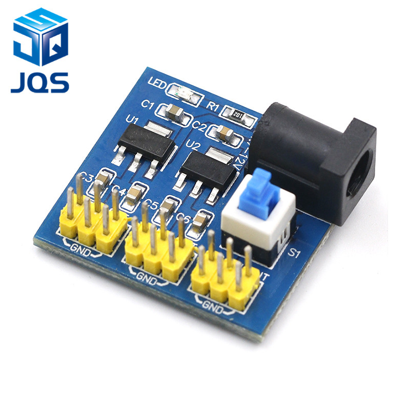 3.3V 5V 12V Multi Output Voltage Conversion DC-DC 12V To 3.3V 5V 12V Power Module