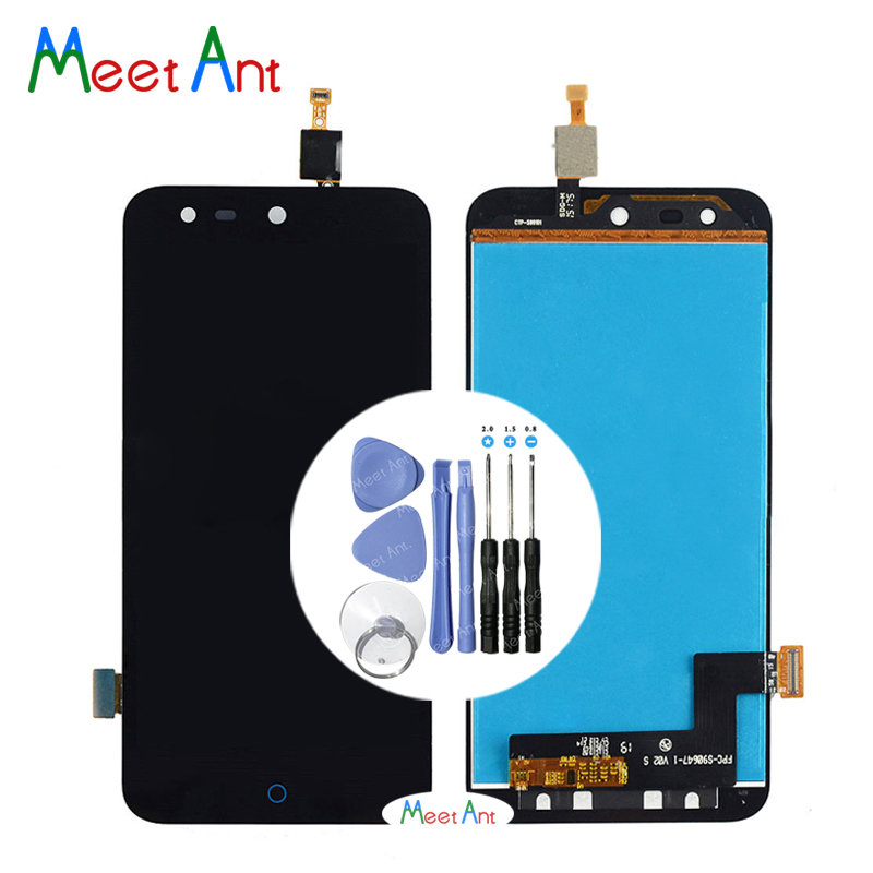 High Quality 5.0'' For <font><b>ZTE</b></font> Blade X5 /Blade D3 <font><b>T630</b></font> LCD Display Screen With Touch Screen Digitizer Assembly + Tool image