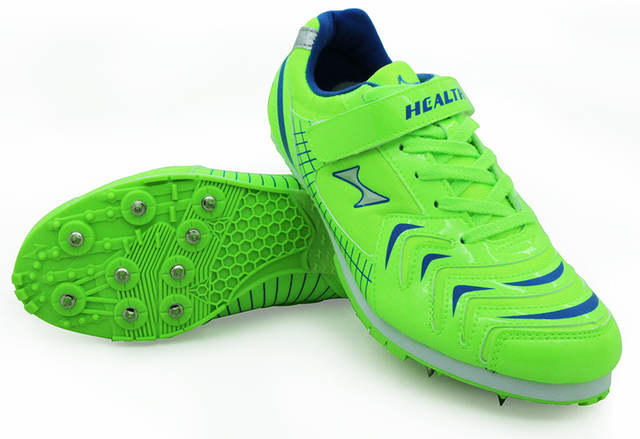 US $45.62 44% OFF|Gesundheit kinder verfolgen und feld für männer spike lange jump schuhe berufs ausbildung schuhe herren sport laufschuhe spikes 35
