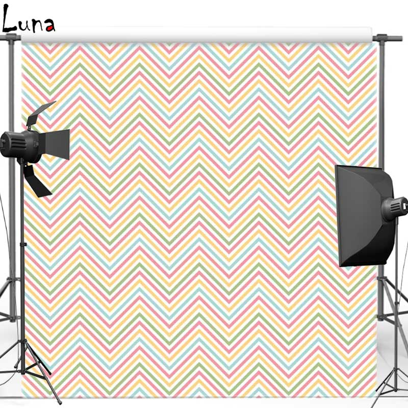 Photo Background Wave Chevron pattern Vinyl Cloth Photography Backdrops for photo studio Props F961 missoni for target travel tote colore chevron pattern