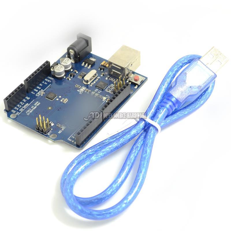 UNO R3 SMD controller ATmega16U2 microcontroller development board