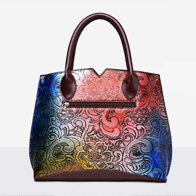 485eccff8edf7 ... SINTIR Women Bag Floral Printing Chinese Style Women High Quality PU  Leather Handbags Fashion Colourful Shoulder ...