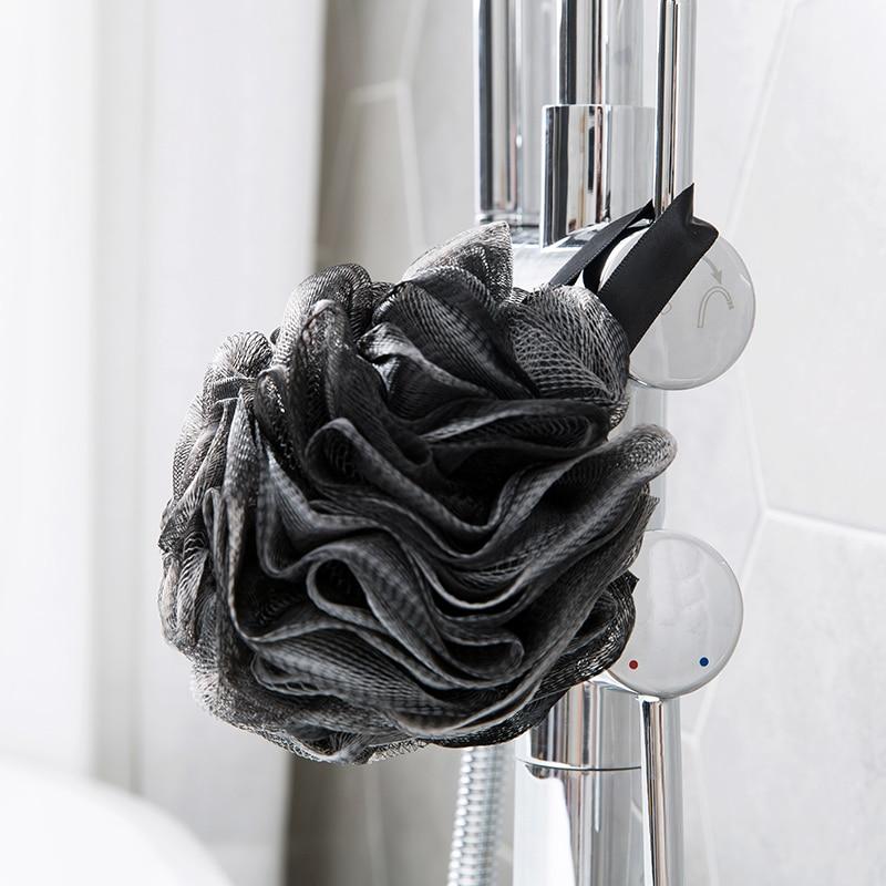 Vanzlife bast brush body sponge brush bath with natural bristles Exfoliator shower Room Bathing foam the body scourer for loofah 3