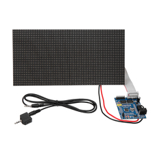 Dot Rectangle Board Analyzer Sound Waves Display 32X64 Assem