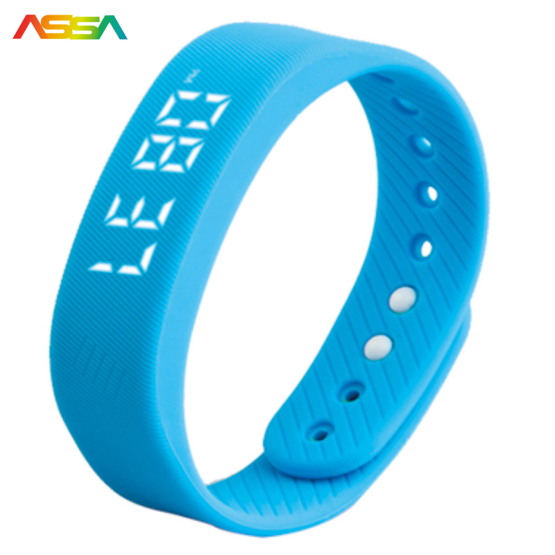 New Smartband Pedometer Smart Health Waterproof Smart Wristband LED Wearable Devices Fitness Tracker Sports Smart Bracelet
