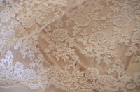 2016 Off White Lace Fabric Cord Lace Fabric Alencon Lace Fabric For Bridal Gown On Sale