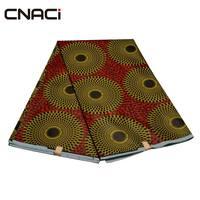 CNACI Veritable Wax Hollandais Guaranteed Real Dutch Wax Hot Sale New Products Ankara Fabric African Real Wax Print Fabric 6 Yds