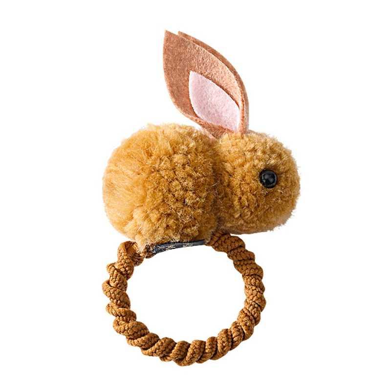 2019 Cute Animals Rabbit  Style Hair Bands Felt Three-Dimensional Plush Rabbit Ears Headband For Children Girls Hair Accessories