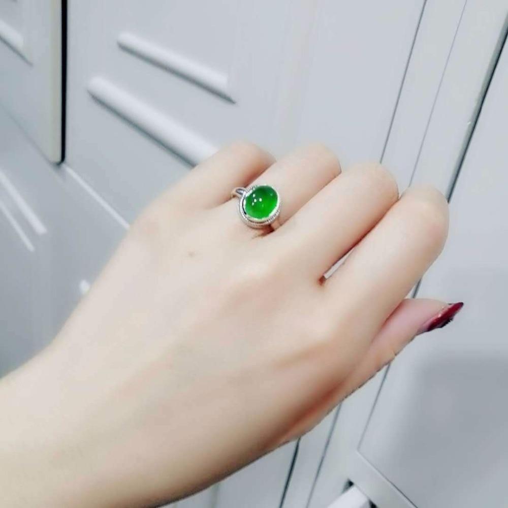 Vendita calda Gioielleria Raffinata Perfetto Zambia Naturale Smeraldo Anello Per Le Donne Con La Certificazione Anello Regolabile-in Anelli da Gioielli e accessori su  Gruppo 2