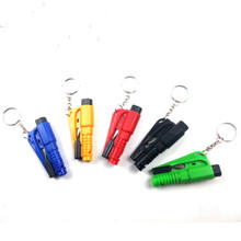 Car Multi-function Mini Window Breaker Emergency Safety Hammer Keychain