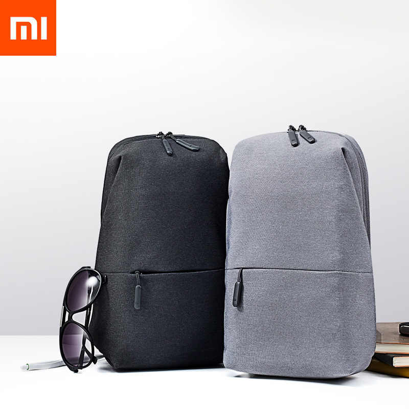 New Original Xiaomi Backpack Bag Urban Leisure Chest Pack for Men Women Shoulder Type Unisex Rucksack for Game Pad Bag Travel