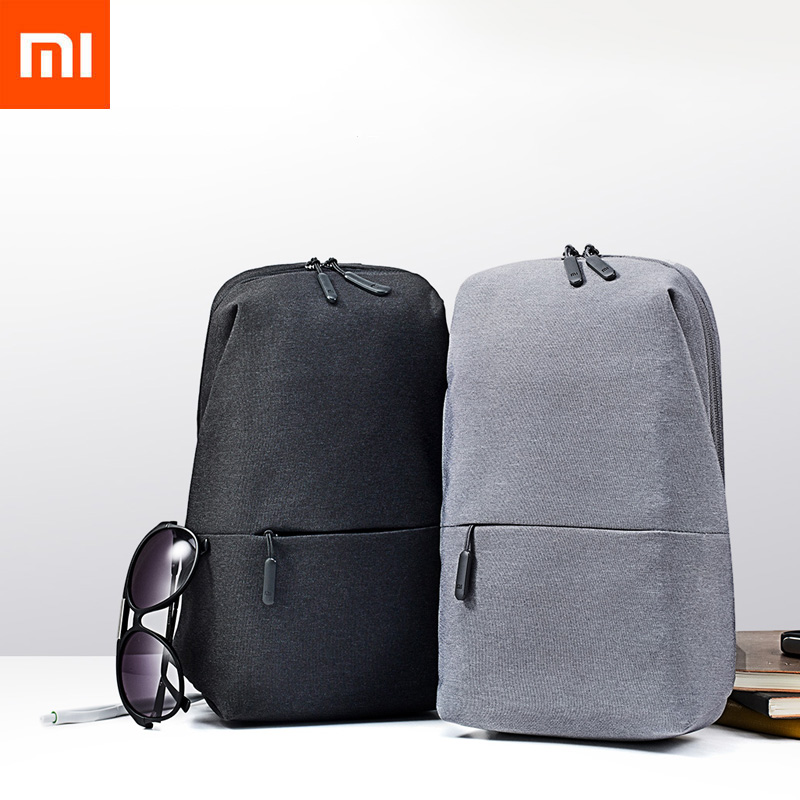 Videospiele Taschen Authentische Xiaomi Reise Business Rucksack 4l Brust Pack Taschen Männer Frauen Polyester Sling Tasche Für Freizeit Sport Laptop