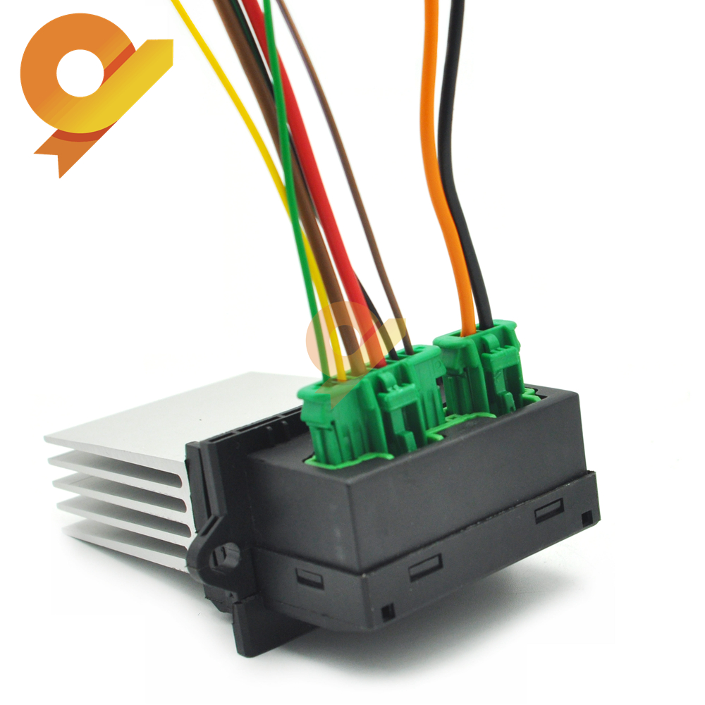 27150-ED70A Heizung Fan Control Modul Widerstand stecker Für Renault Megane Sport Tourer Scenic MK 2 Citroen C2 C3 C5 1,4 1,6 2,0 16V