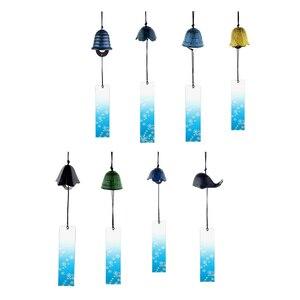 Image 3 - 8Pieces Japanese Furin Wind Chime Nambu Cast Iron Iwachu Bells