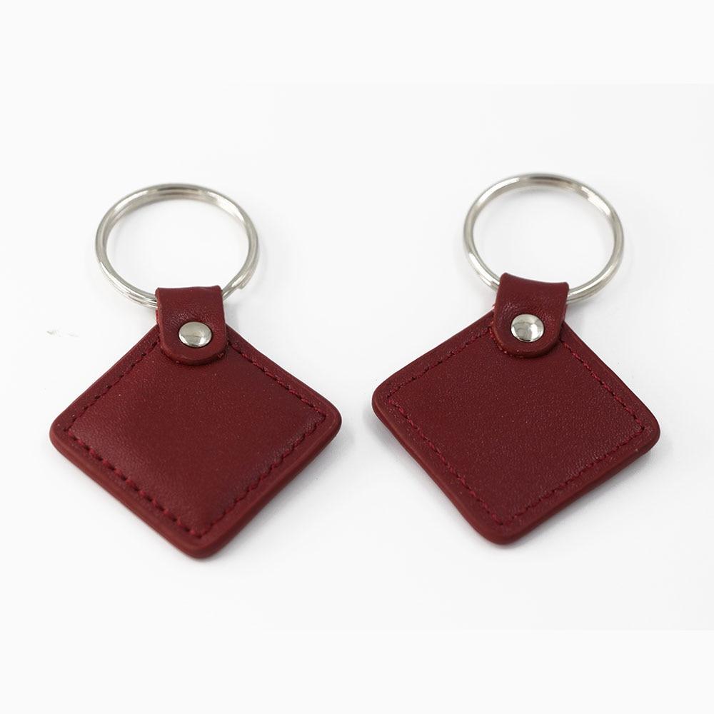 TK4100-puce 125KHZ RFID   Jeton didentification de proximité, porte-clés en cuir, porte-clés (lire uniquement) pour commutateur de contrôle daccès, puissance