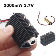 NEJE 2000 mW лазерная головка модуль трубки аксессуар лазерная гравировка машина заменить части для NEJE DK-8-KZ/DK-8-FKZ гравер