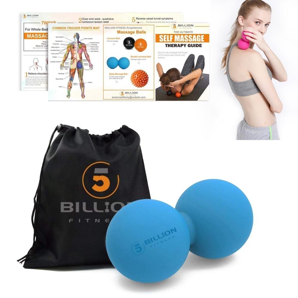 Mini Peanut Shape Self-Massage Ball For The Fascia Mini Back Stress Relief Massa
