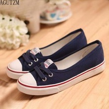 Women Shoes Ballet Flats Loafers Casual Breathable Women Flats Slip On Fashion 2018 Canvas Flats Shoes Women Low Shallow V246 цена 2017
