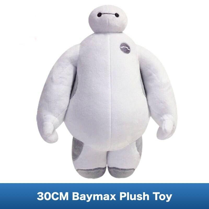 Baymax Peluche Doux Poupée de Film Big Hero 6 Santé Compagnon Robot qualité Jouets En Peluche 12 pouces (30 CM)