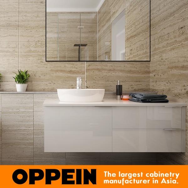 Custom Luxury Ready Made Mirrored Modern Bathroom Vanity Cabinet