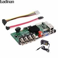 GADINAN Main PCB 1080P AHD H 8 Channel AHD DVR DIY Recorder Video Recorder 4*1080P(AHD)+4*1080P(IP)/ 8*1080P+8*960P ONVIF XVR
