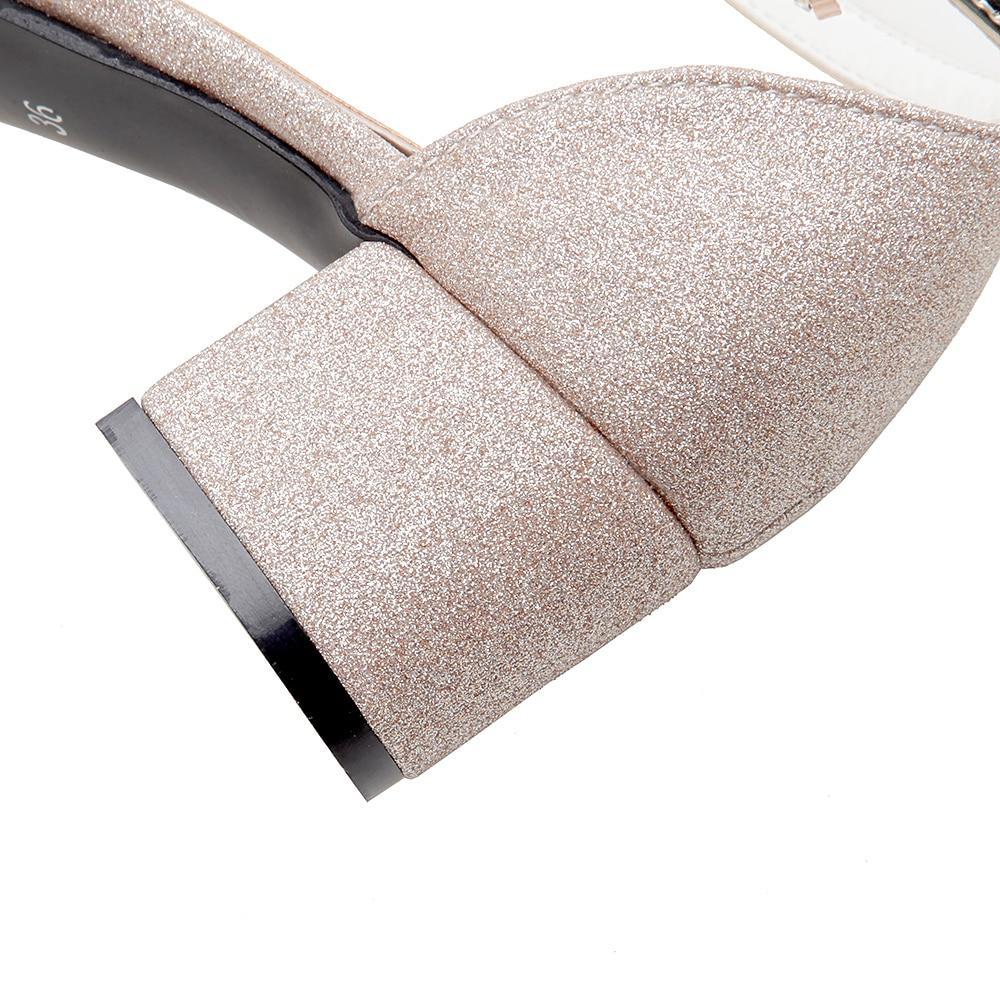 LAFS CSTLAV Basic Med Heel 5cm Bekväm Sandal Kvinnor Öppna Toe - Damskor - Foto 4
