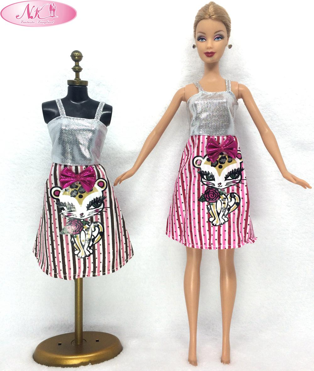 Buy Nk One Set Doll Skirt Cute Pattern Design Dresses Girl Fashion Evening