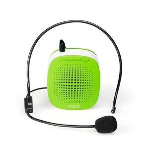 Image 2 - MAONO Stimme Verstärker Mini Wiederaufladbare PA system (1020mAh) mit Wired Mikrofon für Lehrer Präsentationen Trainer Tour Guides