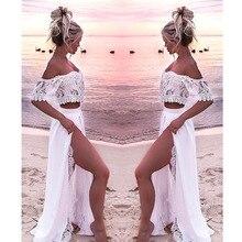 Women Crop Top And Skirt Beach Women Sets Clothes 2019 Women