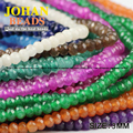 Natural Jade beads 3*2mm 200pcs Top quality Loose beads Flat Round Stone 17 Colour beads bracelet Jewelry Accessories Making DIY