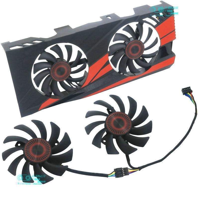 FD7010H12D DC12V 0.35A For ASUS GTX660 GTX670 GTX680 GTX690 Graphics Card Cooling Fan