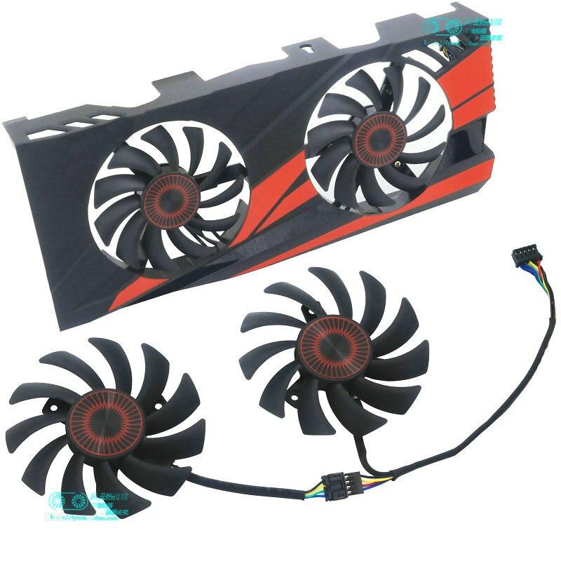 New Original For ASUS GTX1060-03G GTX960 Graphics Card Cooling Fan T128010BH T128010SH FD7010H12D FD7010H12S