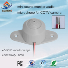 SIZHENG COTT-QD35 Mini microphone CCTV voice pick up -42dB ceiling audio system for security solutions audio pick up high sensitive mini cctv audio microphone mic for security cctv camera dvr system