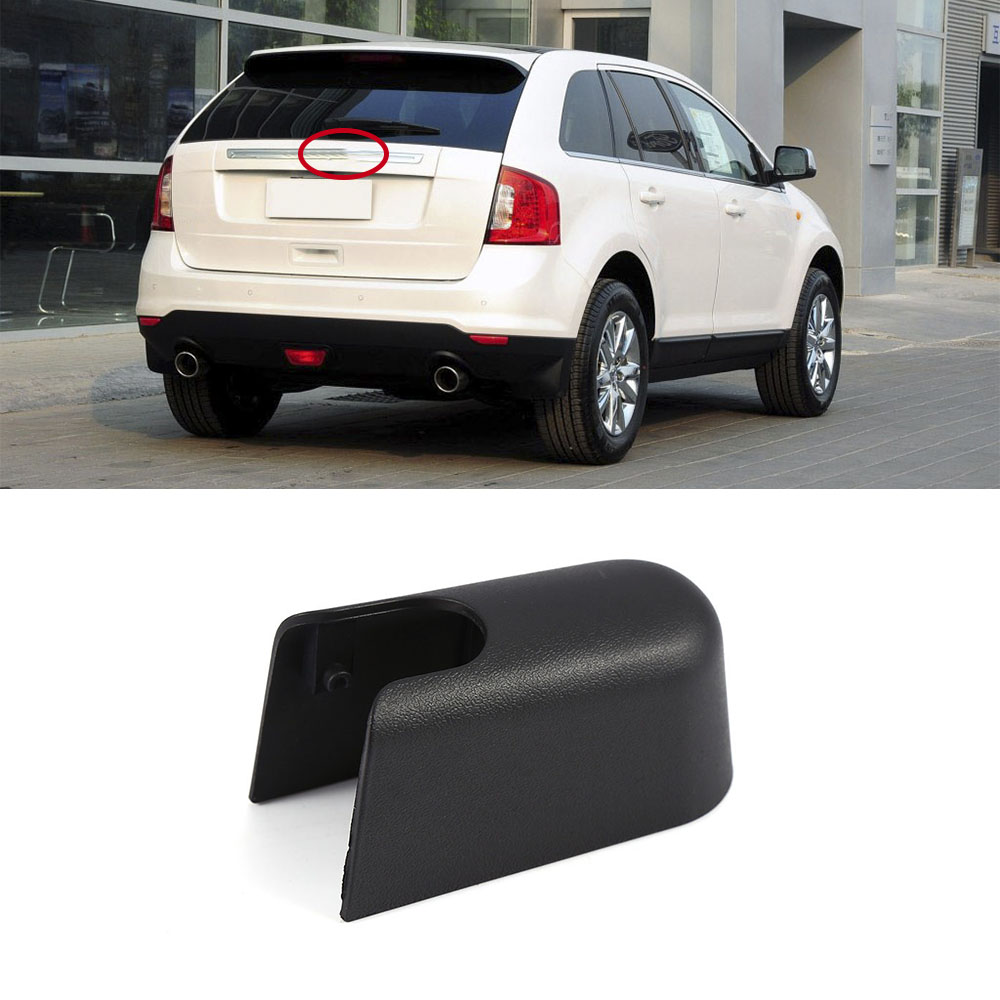 Hlest car styling accessories repair part for 2010 2013 ford edge rear windshield wiper arm nut cover cap plastic in windscreen wipers from automobiles