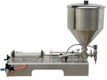 Semi auto paste filling machine, hand bottle filling machine, manual cream filler