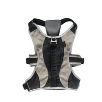 Relfective Adjustable Soft Breathable Dog Harness Nylon Mesh Vest Harness Pet Supplies Arnes Perro Gato Correa