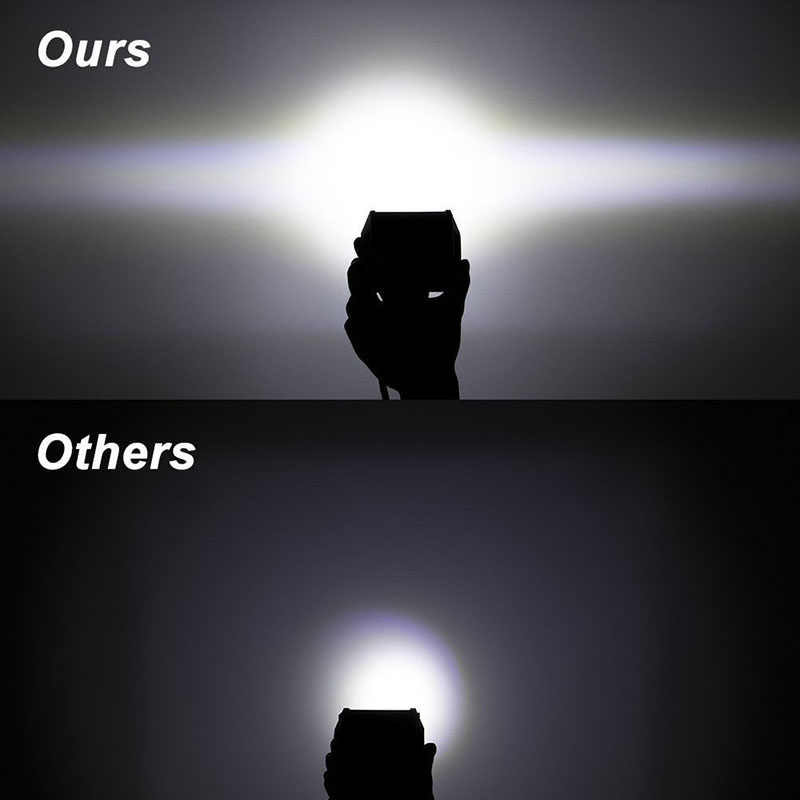 NAO عمود إضاءة led ضوء العمل Led 12 فولت 60 واط بار لمبة 24 فولت بقعة أضواء الفيضانات الشاحنات led السيارات الضباب ضوء ل الطرق الوعرة سيارة 4 بوصة