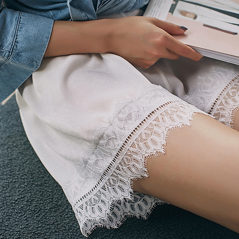 Fashion Lace Patchwork Short For Women New Summer Comfortable Thin Pants Under  Malfunction Safety Pants