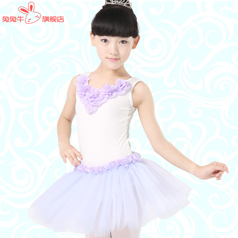 Girl Kids Ballet Dancing Disfraces Gymnastic Leotard Ballet Tutu Dance Saia Costume Professional Ballet Tutu Dress For Children