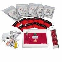 XFT 120C AED/моделирования тренер первой помощи CPR/AED обучение с 50 шт. КПП реаниматолог маска аварийно спасательных комплект
