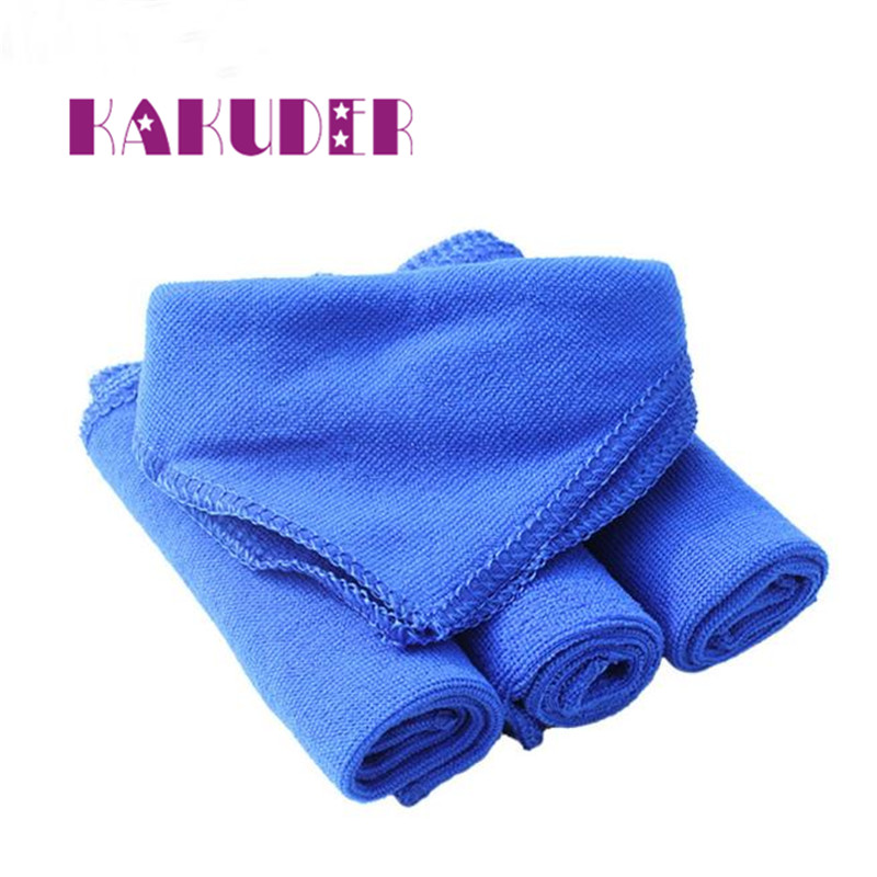 NEW 5Pcs Blue Soft Absorbent Wash Cloth Car Auto Care Microfiber Cleaning Towels Pano de limpeza quality cleaning new 17may31