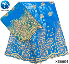 LIULANZHI african bazin riche lace brode getzner sky blue riche getzner 2018 new arrival 5yards fabric+2yards french lace XB66 liulanzhi bazin riche getzner african fabric lace fabric new arrival orange 5yards cotton 2yards scarf 7yards lot hlb68