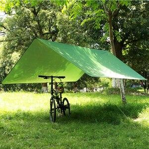 Image 3 - Toldo ultraligero para acampar al aire libre, supervivencia, protección solar, toldo con revestimiento de plata, pérgola impermeable, tienda de playa