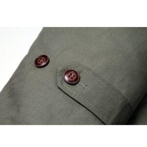 Image 4 - Deutsch Connie Großen Military Jacke M1909 Kampf Mantel Winter männer Armee Outwear