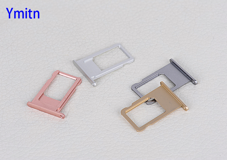 New Ymitn housing mobile phone SIM Card Tray card slot Holder For iphone 6/6plus/6s/6splus,Free Shipping