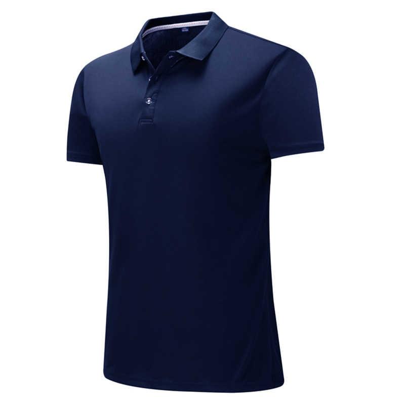 Pria Polo Kemeja Camisa Masculina Kemeja Kapas Lengan Pendek Shirt Merek Jerseys Musim Panas Sportsjerseysgolftennis Blusas Tops