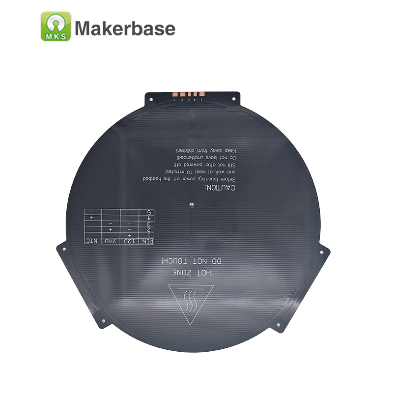 3D Printer PCB Aluminium Heated Bed Plate MK3 12V RepRap Prusa Delta rostock