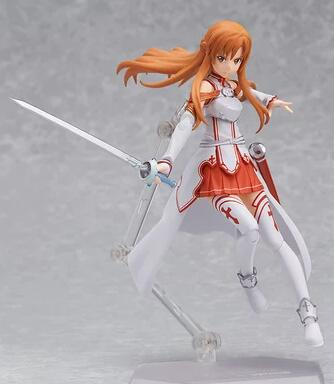 free shipping Figma SAO sword domain of God kirito kirigaya and Yasina movable doll shipping model set maxfactory figma 178 yasina hand sword domain of god yuki akihina model model of the japanese anime girl s gift
