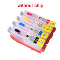 For HP 903 904 905 refillable Ink cartridge for OfficeJet 6950 6956 OfficeJet Pro 6960 6970 no chip